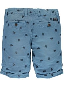 Garcia Boys Cotton Print Shorts