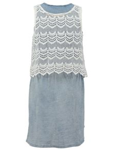 Garcia Girls Overlay Cotton Dress