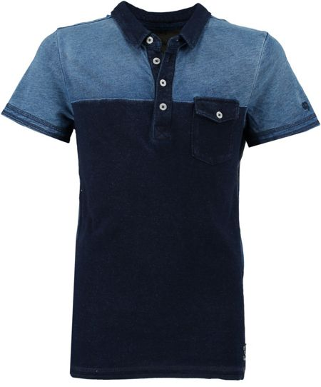 Garcia Boys Contrast Cotton Polo Shirt