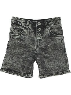 Girls Cotton Denim Shorts