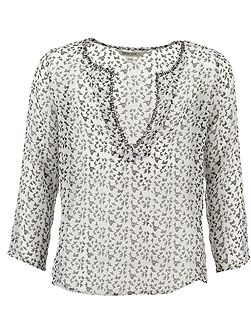 Girls Print Blouse
