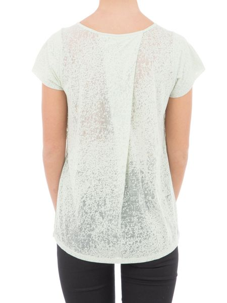 Garcia Sheer Printed T-Shirt