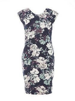 Slim Fit Floral Dress