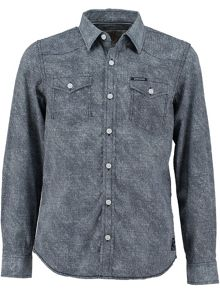 Garcia Boys Long Sleeved Cotton Shirt