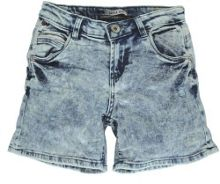 Garcia Girls Stonewashed Denim Cotton Shorts