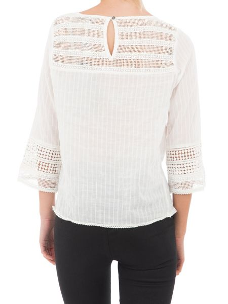 Garcia Cotton Embroidered Blouse