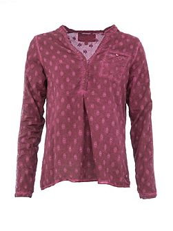Cotton Dotted Blouse