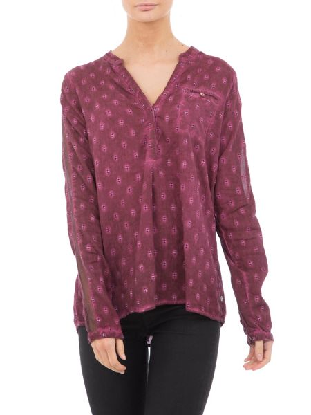 Garcia Cotton Dotted Blouse