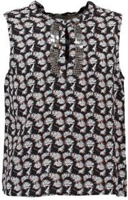 Garcia Girls Floral Sleeveless Blouse