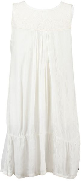 Garcia Girls Cotton Day Dress With Embroidery