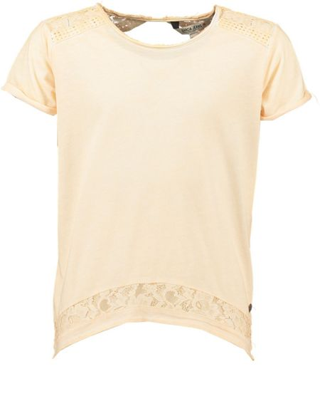 Garcia Girls T-Shirt With Lace Detailing