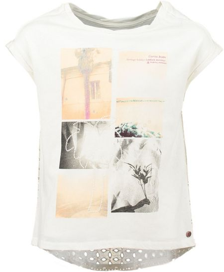 Garcia Cotton Print T-Shirt