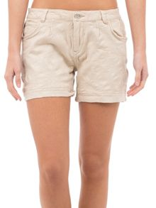 Garcia Textured Denim Shorts