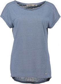 Garcia T-Shirt With Embellished Neckline