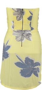Garcia Strapless Floral Dress