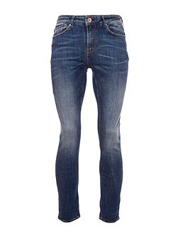 Slim Fit Faded Jeans