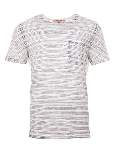 Garcia Striped Cotton T-Shirt