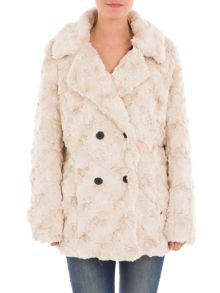 Garcia Faux Fur Coat