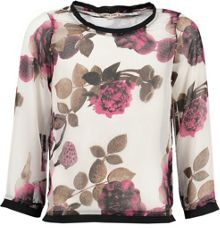 Garcia Girls Floral Print Top