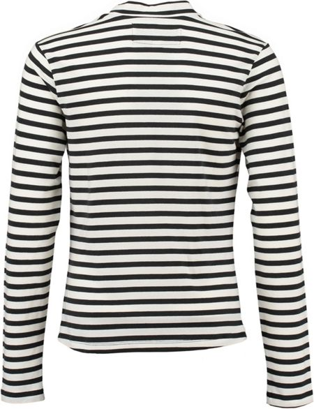 Garcia Girls Striped Turtleneck Top