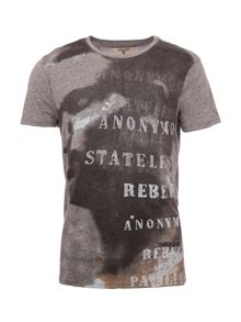 Garcia Printed Cotton T-Shirt