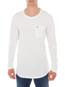 Garcia Long Sleeved Cotton Top