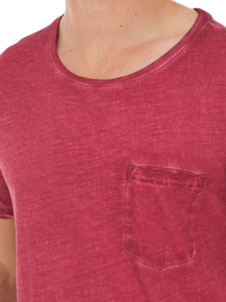Garcia Cotton T-Shirt With Chest Pocket