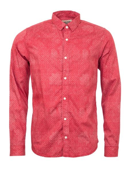 Garcia Printed Cotton Shirt