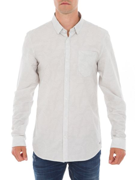 Garcia Cotton Shirt With Chest Pocket