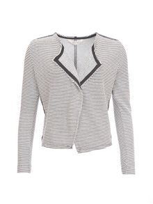 Garcia Striped Waterfall Cardigan