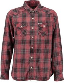 Garcia Boys Check Cotton Shirt