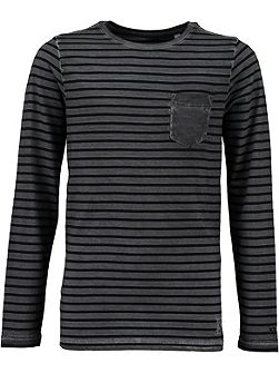 Boys Striped Cotton Top