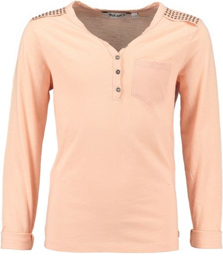 Garcia Girls Cotton Top With Studded Shoulders
