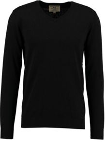 Garcia V-Neck Cotton Jumper