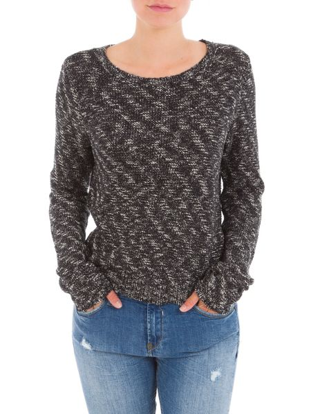 Garcia Patterned Cotton Jumper