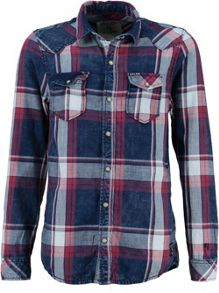 Garcia Boys Faded Check Cotton Shirt