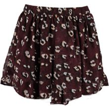 Garcia Girls Leopard Print Skirt