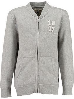 Boys Zip Up Sweater