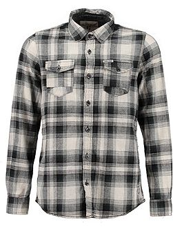Boys Check Cotton Shirt