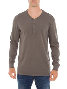 Garcia Cotton Henley Top