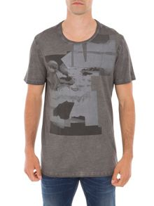Garcia Print Cotton T-Shirt