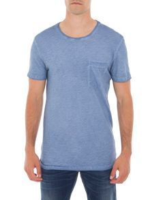 Garcia Garment-Dyed Cotton T-Shirt