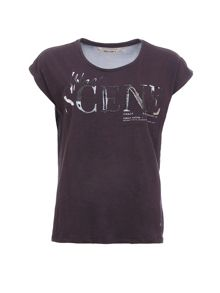 Garcia Embellished Cotton T-Shirt