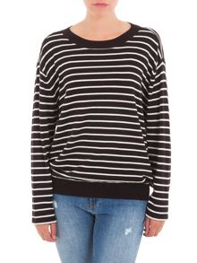 Garcia Oversized Striped Jumper