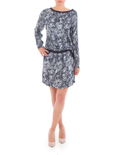Garcia Printed Dress With Elasticated Waist