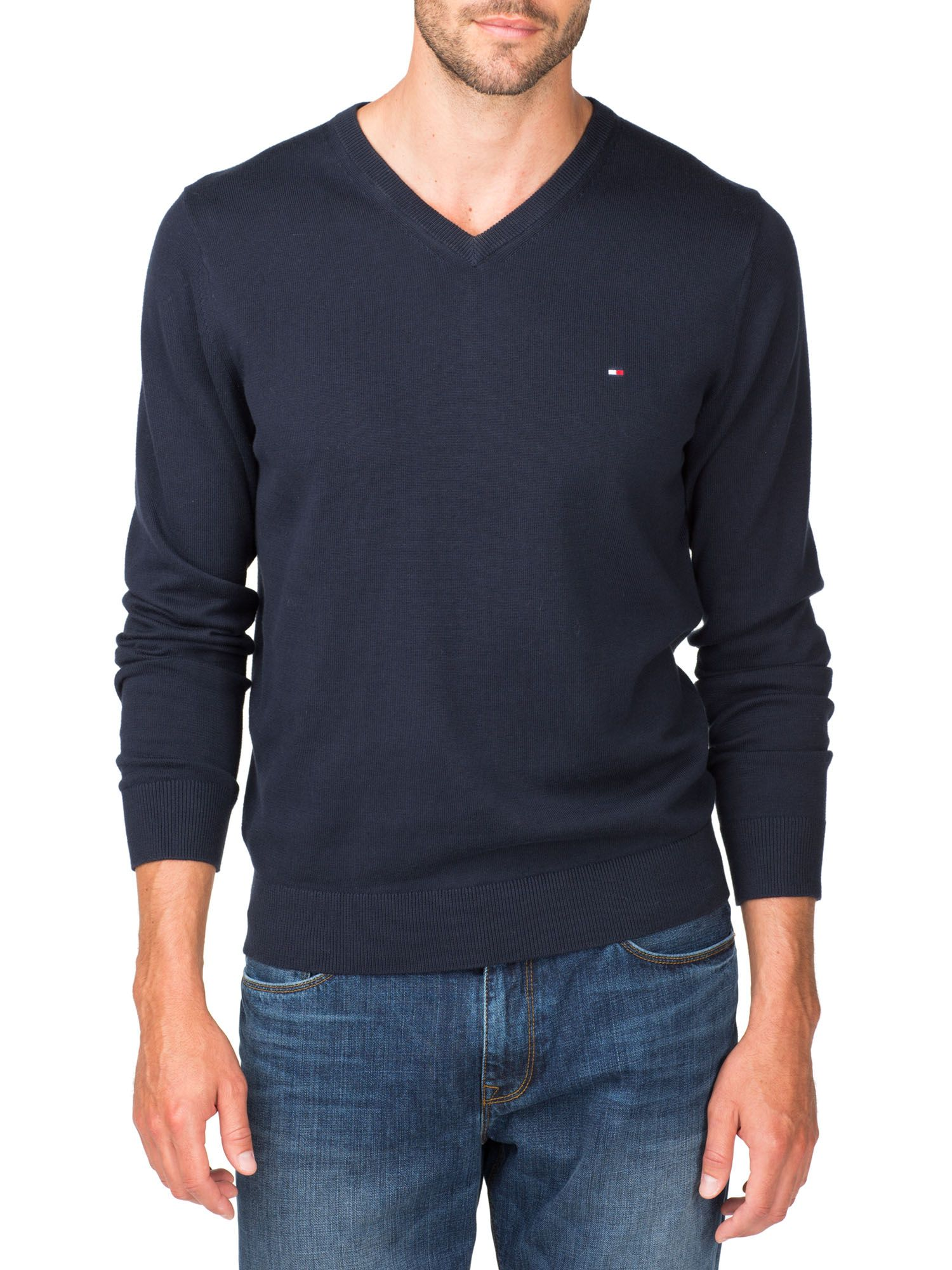 Pacific v-neck jumper