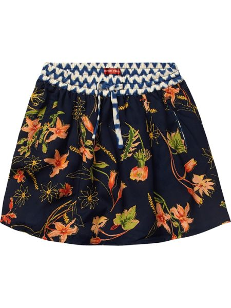 Scotch R'Belle Girls allover printed silky feel skirt