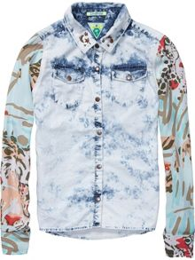 Girls shirt with all over prints