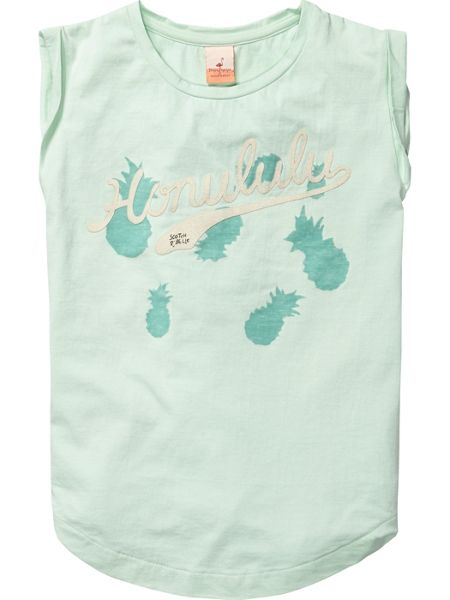 Scotch R'Belle Girls tee with printed backpanels