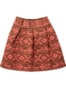 Girls elastic circle skirt